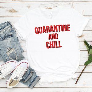 Netflix and Chill Inspired Unisex T shirt - NEW